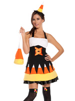 Candy Corn Cutie Halloween Costume ~ S-4X
