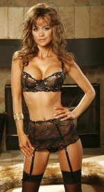 Amber Collection 3 Piece Bra, Waist Cincher & G-String Set - 32,34,36,38,40,42,44